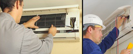 Air conditioning maintenance and emergency call out